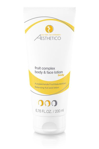 AESTHETICO fruit complex body & face lotion